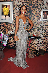 ROCHELLE WISEMAN at a party hosted by Roberto Cavalli to celebrate his new Boutique's opening at 22 Sloane Street, London followed by a party at Battersea Power Station, London SW8 on 17th September 2011.