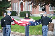 Raise lower flag