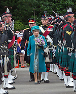 Queen Attends Ceremony Of The Keys, Edinburgh