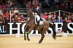 Reynolds Judy, (IRL), Vancouver K<br /> Grand Prix Freestyle <br /> Reem Acra FEI World Cup Dressage <br /> London International Horse Show<br /> © Hippo Foto - Jon Stroud