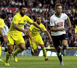 Derby County's Andreas Weimann - Mandatory by-line: Robbie Stephenson/JMP - 07966386802 - 29/07/2015 - SPORT - FOOTBALL - Derby,England - iPro Stadium - Derby County v Villarreal CF - Pre-Season Friendly