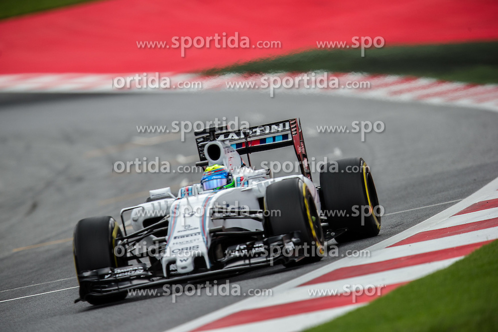19.06.2015, Red Bull Ring, Spielberg, AUT, FIA, Formel 1, Grosser Preis von Österreich, Training, im Bild Felipe Massa, (BRA, Williams Martini Racing) // during the Practice for the Austrian Formula One Grand Prix at the Red Bull Ring in Spielberg, Austria, 2015/06/19, EXPA Pictures © 2015, PhotoCredit: EXPA/ Dominik Angerer