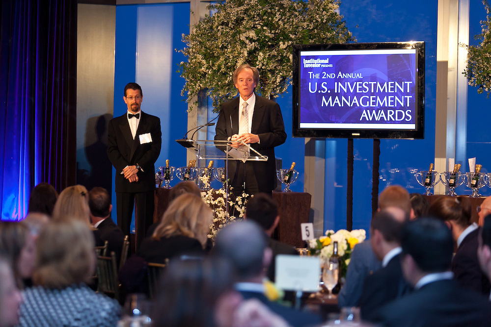 2nd Annual Institutional Investor's Investment Management Awards held May 16, 2011 at the Mandarin Oriental Hotel in New York. Photographed by Jeffrey Holmes Photography.