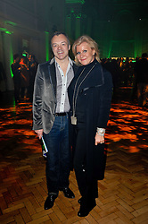 GRAHAM NORTON and Maria McErlane at the press night of the new Andrew Lloyd Webber  musical 'The Wizard of Oz' at The London Palladium, Argylle Street, London on 1st March 2011 followed by an aftershow party at One Marylebone, London NW1