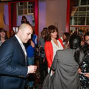 NLD/Amsterdam/20130521 - Specsaver feest met Helena Christensen, met beveiliging