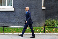 © Licensed to London News Pictures. 07/10/2013. London, UK. Conservative MP Sajid Javed, the new Financial Secretary to the Treasury, is seen on Downing Street in London today (07/10/2013) during a ministerial reshuffle. Photo credit: Matt Cetti-Roberts/LNP