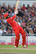 Lancashires Arron Lilley during the Vitality T20 Blast North Group match between Lancashire County Cricket Club and Yorkshire County Cricket Club at the Emirates, Old Trafford, Manchester, United Kingdom on 20 July 2018. Picture by George Franks.