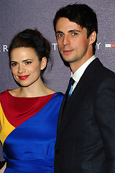 Hayley Atwell and Matthew Goode attends the opening of the new Tommy Hilfiger store on in London on Thursday 1st December 2011. Photo by: i-Images