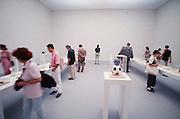 VENICE, ITALY..June 1997..47th Biennale of Venice.Spanish Pavillion..Objects by Joan Brossa..(Photo by Heimo Aga)