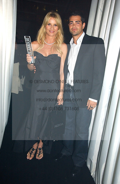JESS METCALF and NICOLETTE SHERIDAN at the 2006 Glamour Women of the Year Awards 2006 held in Berkeley Square Gardens, London W1 on 6th June 2006.<br />
