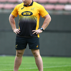 Steven Kitshoff of South Africa during the South African - Springbok Captain's Run at DHL Newlands Stadium. Cape Town.South Africa. 22,06,2018 23,06,2018 Photo by (Steve Haag JMP)