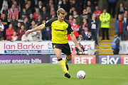 Burton Albion defender Ben Turner (6) during the EFL Sky Bet Championship match between Burton Albion and Fulham at the Pirelli Stadium, Burton upon Trent, England on 16 September 2017. Photo by Richard Holmes.
