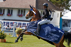 Patteet Gudrun, BEL, Sea Coast Atlantic<br /> Grand Prix Longines Ville de La Baule 2018<br /> © Dirk Caremans<br /> 18/05/2018