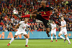 August 31, 2017 - Liege, BELGIUM - Belgium's Vincent Kompany pictured in action during a soccer between Belgian national soccer team Red Devils and Gibraltar, a World Cup 2018 qualification game in Group H, Thursday 31 August 2017 in Liege, Belgium. BELGA PHOTO DIRK WAEM (Credit Image: © Dirk Waem/Belga via ZUMA Press)