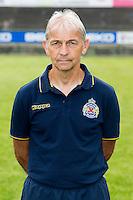Waasland-Beveren's assistant coach Herman Vermeulen poses during the 2015-2016 season photo shoot of Belgian first league soccer team Waasland-Beveren, Tuesday 07 July 2015 in Beveren-Waas.