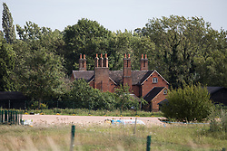 Harefield, UK. 13 July, 2020. Dews Farm, which was visited by Queen Elizabeth I in 1602 and was the birthplace of Victoria Cross holder Cecil John Kinross in 1896, is expected to be demolished for the HS2 high-speed rail link in the near future.