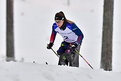 MASTERS Oksana, USA, LW12 at the 2018 ParaNordic World Cup Vuokatti in Finland