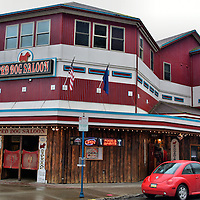 Red Dog Saloon Fa&ccedil;ade in Juneau, Alaska<br />