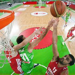 20120804: SLO, Basketball - Adecco Cup, Slovenia vs Croatia