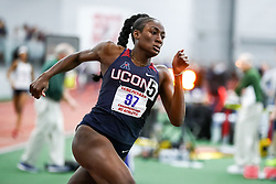 ECAC/IC4A Track and Field Indoor Championships<br /> 400 meters, UConn, Kat Surin