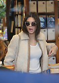 KENDALL JENNER at the library after lunch
