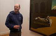 Gavin Turk, Giorgio de Chirico and the Myth of Ariadne, Estorick Collection, London. 21 January 2003. © Copyright Photograph by Dafydd Jones 66 Stockwell Park Rd. London SW9 0DA Tel 020 7733 0108 www.dafjones.com