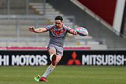 Tony Gigot for Catalan Dragons during the Betfred Super League match between Salford Red Devils and Catalan Dragons at the AJ Bell Stadium, Eccles, United Kingdom on 30 March 2018. Picture by George Franks.