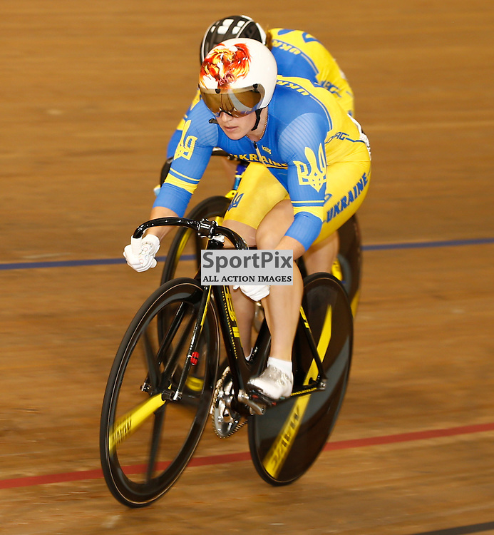 UCI Track Cycling World Cup Glasgow 4th - 6th November 2016. Liubov Basova in the qualifying session for Women's sprint 1/8 finals .....(c) STEPHEN LAWSON | SportPix.org.uk