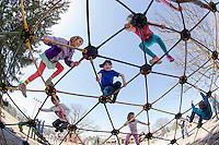 Spring day at Leavitt Park Playground.  Karen Bobotas/ for the Laconia Daily Sun