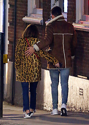 Love Island presenter Caroline Flack may have fund love herself, as she was spotted out with Celebrity Big Brother contestant Andrew Brady. Caroline and Andrew looked very cosy as they enjoyed a pub lunch before leaving in a minicab together.... UK. 06/02/2018<br />
