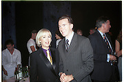 Sally Greene and Peter Mandelson.  New Board of Directors at the Old Vic. October 1998. © Copyright Photograph by Dafydd Jones 66 Stockwell Park Rd. London SW9 0DA Tel 020 7733 0108 www.dafjones.com