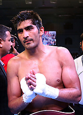 WBO Oriental Super Middleweight Championship - Vijender Singh v Ernest Amuzu - 23 December 2017