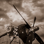Gerry Polucci, former US Marine who worked on Corsair aircraft during his tour of duty in the mid-50's.