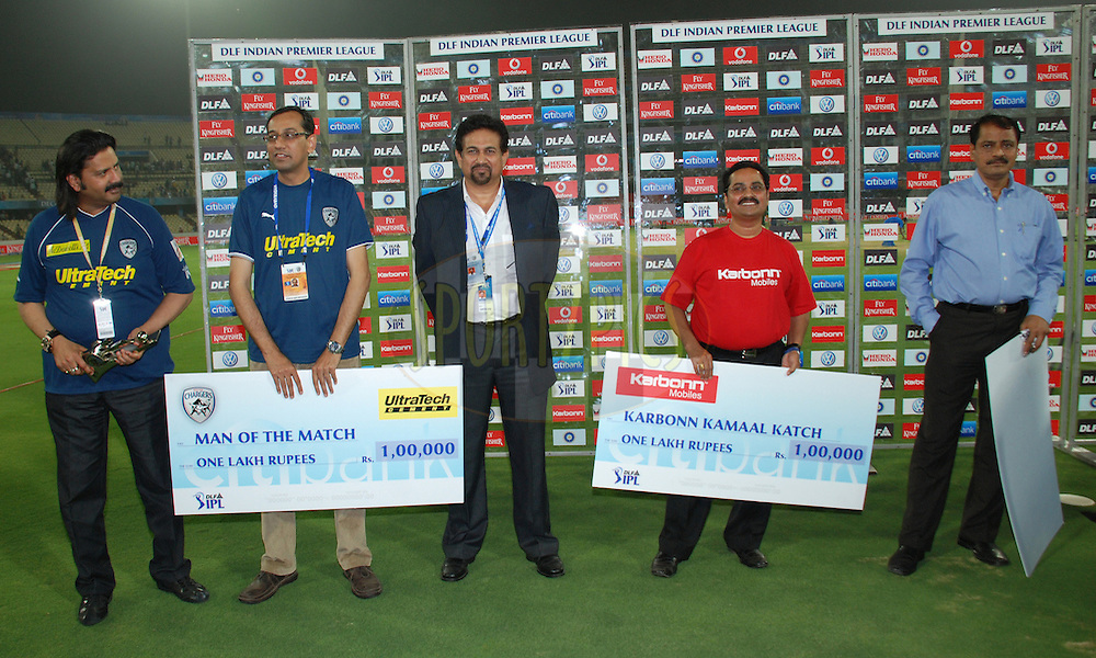 during match 2 of the Indian Premier League ( IPL ) between the Deccan Chargers and the Rajasthan Royals held at the Rajiv Gandhi International Cricket Stadium in Hyderabad on the 9th April 2011.