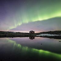 Aurora over Skavlabu