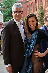 Jay Jopling and Hikari Yokoyama at the V&A Summer Party 2017 held at the Victoria & Albert Museum, London England. 21 June 2017.<br /> Photo by Dominic O'Neill/SilverHub 0203 174 1069 sales@silverhubmedia.com