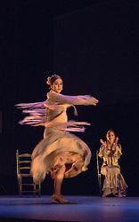 Gala Flamenco, Sadler's Wells. Patricia Guerrero dances with the bata de cola