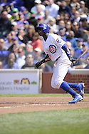 CHICAGO - MAY 17:  Alfonso Soriano #12 of the Chicago Cubs bats against the New York Mets on May 17, 2013 at Wrigley Field in Chicago, Illinois.  The Mets defeated the Cubs 3-2.  (Photo by Ron Vesely/MLB Photos via Getty Images)  *** Local Caption *** Alfonso Soriano