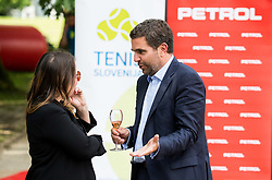 Tjasa Kolenc Filipcic and Tomaz Jontes at Petrol VIP tournament 2018, on May 24, 2018 in Sports park Tivoli, Ljubljana, Slovenia. Photo by Vid Ponikvar / Sportida