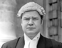 Peter William Warburton Jones aka Peter Jones, who was called to the N Ireland Bar, August 1975. Peter Jones is the only son of Sir Edward Warburton Jones, better known as Teddy Jones, a N Ireland resident magistrate and Ulster Unionist Attorney General in the N Ireland Parliament at Stormont. April 1975. 19750400067PJ2<br /> <br /> Copyright Image from Victor Patterson, 54 Dorchester Park, Belfast, UK, BT9 6RJ<br /> <br /> Tel: +44 28 9066 1296<br /> Mob: +44 7802 353836<br /> Email: victorpatterson@me.com<br /> Email: victorpatterson@gmail.com<br /> <br /> IMPORTANT: My Terms and Conditions of Business are at www.victorpatterson.com