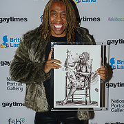 Rikki Beadle-Blair won The Arts award of the Gay Times Honours on 18th November 2017 at the National Portrait Gallery in London, UK.