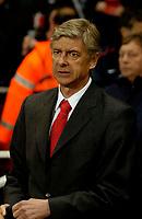 Photo: Ed Godden.<br /> Arsenal v CSKA Moscow. UEFA Champions League, Group G. 01/11/2006. Arsenal Manager Arsene Wenger.