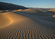 Mesquite Sand Dunes in Death Valley