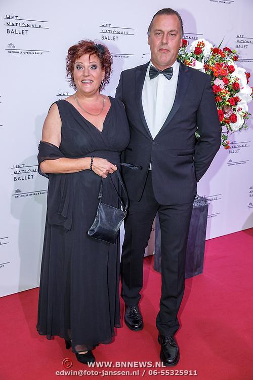 NLD/Amsterdam/20150908 - Inloop Gala 2015 - Nationaal Ballet, Marjolein Touw en partner