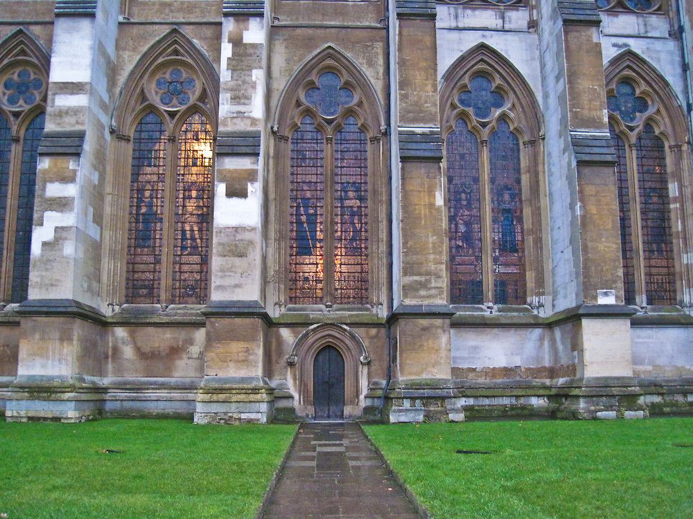 Clergy Entry to Westminster Abbey