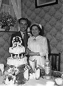 1952 Mr. Anthony Fearon and Miss Bridget McBride Wedding