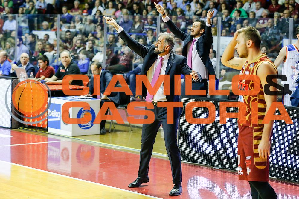 DESCRIZIONE : Venezia Lega A 2015-16 Umana Reyer Venezia Acqua Vitasnella Cantu<br /> GIOCATORE : Fabio Corbani Nicola Brienza<br /> CATEGORIA : Ritratto Curiosita<br /> SQUADRA : Umana Reyer Venezia Acqua Vitasnella Cantu<br /> EVENTO : Campionato Lega A 2015-2016<br /> GARA : Umana Reyer Venezia Acqua Vitasnella Cantu<br /> DATA : 06/12/2015<br /> SPORT : Pallacanestro <br /> AUTORE : Agenzia Ciamillo-Castoria/G. Contessa<br /> Galleria : Lega Basket A 2015-2016 <br /> Fotonotizia : Venezia Lega A 2015-16 Umana Reyer Venezia Acqua Vitasnella Cantu
