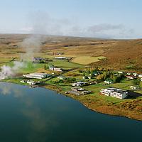 Laugarvatn séð til vesturs, Laugardalshreppur. / Laugarvatn viewing west, Laugardalshreppur.