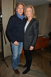 NIGEL HAVERS and his wife GEORGIANA BRONFMAN at the 3rd birthday party for Spectator Life magazine hosted by Andrew Neil and Olivia Cole held at the Belgraves Hotel, 20 Chesham Place, London on 31st March 2015.