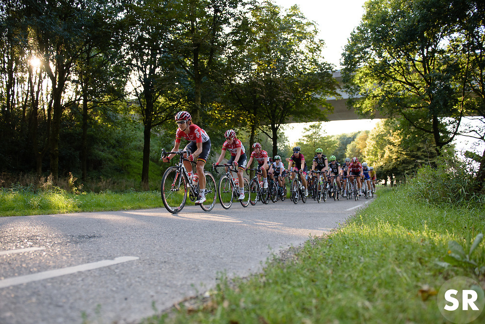 Lotto Soudal take control of the peloton at the 103 km Stage 1 of the Boels Ladies Tour 2016 on 30th August 2016 in Tiel, Netherlands. (Photo by Sean Robinson/Velofocus).